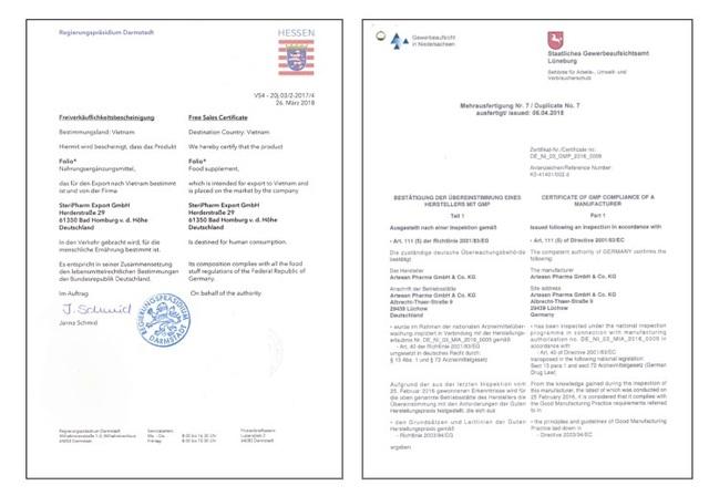 Viên uống bổ bầu Folio® của Đức đã chính thức có mặt tại Việt Nam - 3