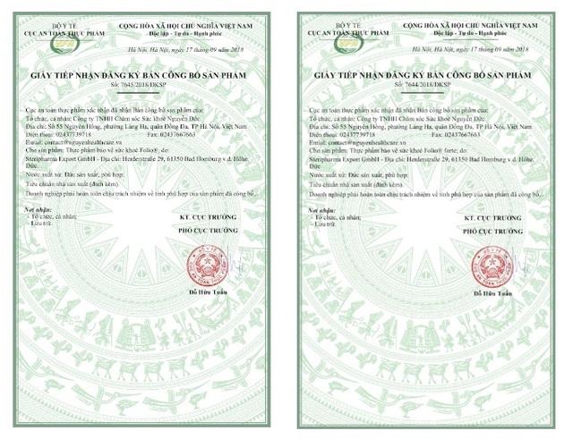 Viên uống bổ bầu Folio® của Đức đã chính thức có mặt tại Việt Nam - 5