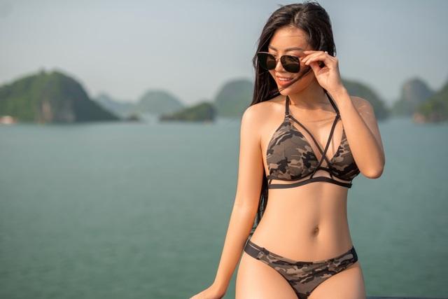 Lan Cave Thanh Hương khoe body nóng bỏng, siêu vòng 3 với bikini - 11