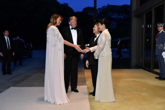 Tổng thống Trump dự quốc yến cùng Nhật hoàng Naruhito - 1
