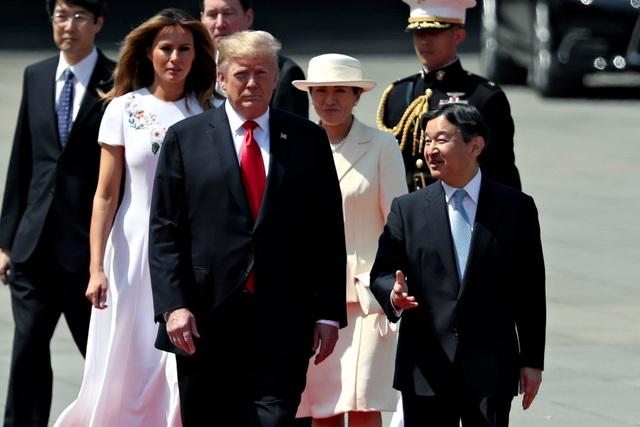 Tân Nhật hoàng đón tiếp Tổng thống Trump trong cuộc gặp lịch sử - 3