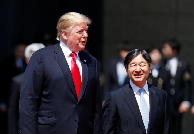 Tân Nhật hoàng đón tiếp Tổng thống Trump trong cuộc gặp lịch sử - 8