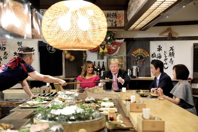Tân Nhật hoàng đón tiếp Tổng thống Trump trong cuộc gặp lịch sử - 14