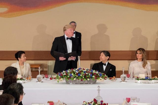 Tổng thống Trump dự quốc yến cùng Nhật hoàng Naruhito - 5