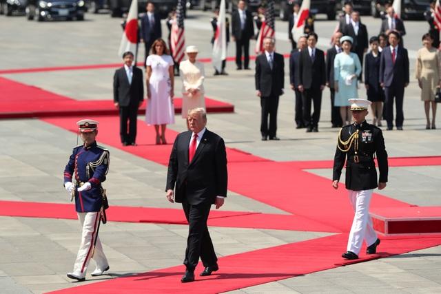 Tân Nhật hoàng đón tiếp Tổng thống Trump trong cuộc gặp lịch sử - 5