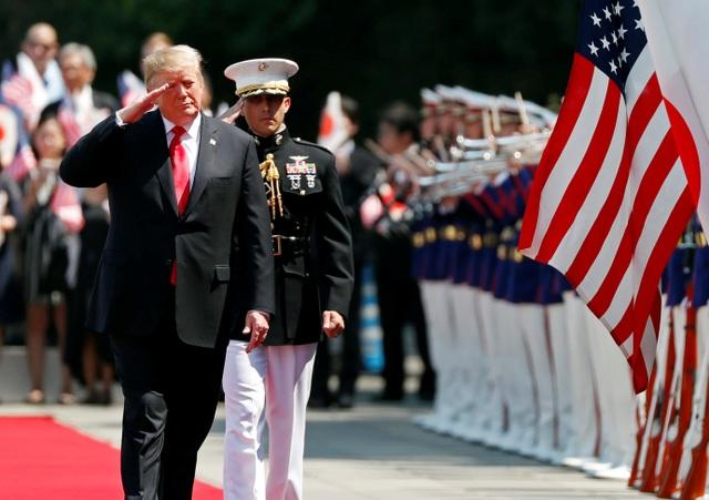 Tân Nhật hoàng đón tiếp Tổng thống Trump trong cuộc gặp lịch sử - 7