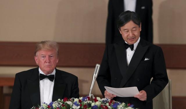 Tổng thống Trump dự quốc yến cùng Nhật hoàng Naruhito - 8