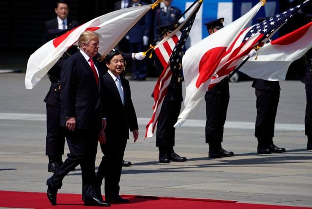 Tân Nhật hoàng đón tiếp Tổng thống Trump trong cuộc gặp lịch sử - 4