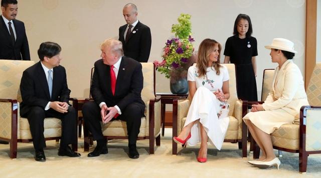 Tân Nhật hoàng đón tiếp Tổng thống Trump trong cuộc gặp lịch sử - 9