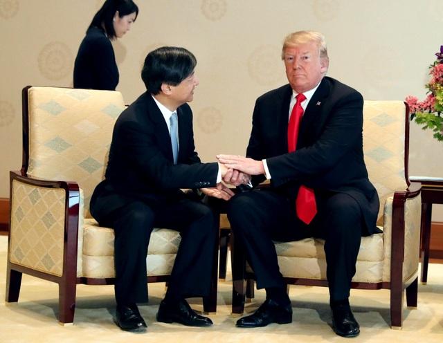Tân Nhật hoàng đón tiếp Tổng thống Trump trong cuộc gặp lịch sử - 10