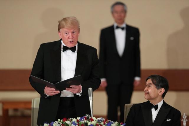 Tổng thống Trump dự quốc yến cùng Nhật hoàng Naruhito - 4