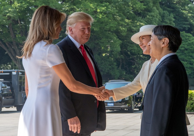 Tân Nhật hoàng đón tiếp Tổng thống Trump trong cuộc gặp lịch sử - 11
