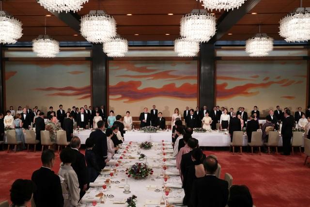 Tổng thống Trump dự quốc yến cùng Nhật hoàng Naruhito - 14