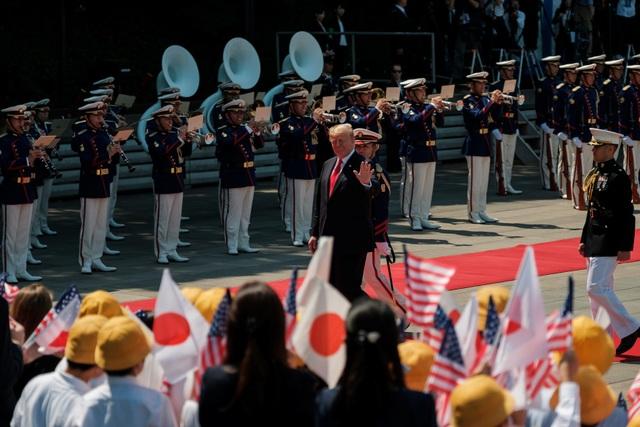 Tân Nhật hoàng đón tiếp Tổng thống Trump trong cuộc gặp lịch sử - 6