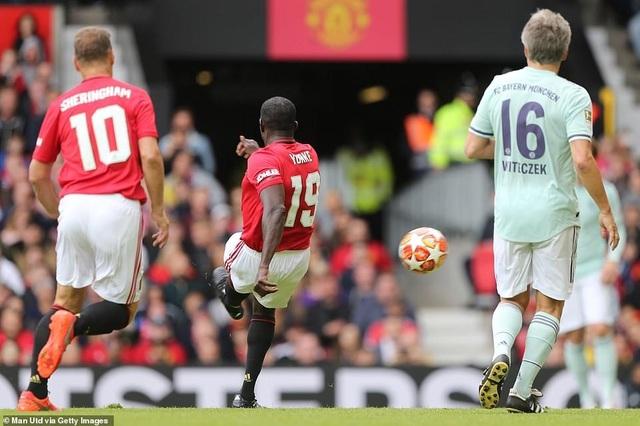 Beckham tỏa sáng, huyền thoại Man Utd thắng huyền thoại Bayern 5-0 - 6
