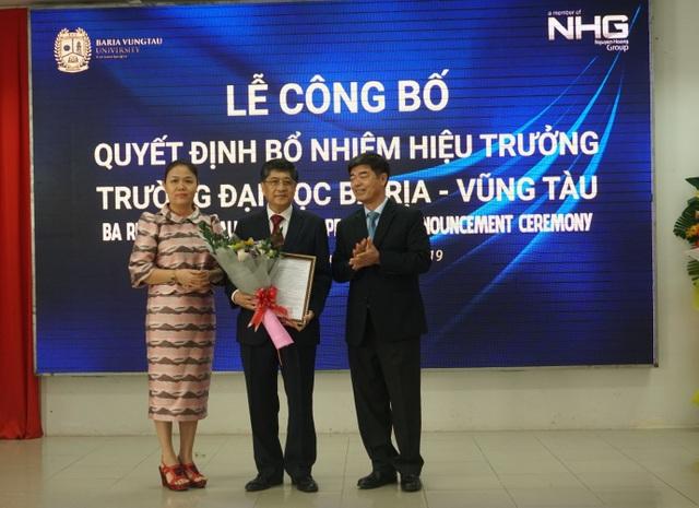 Trường Đại học Bà Rịa - Vũng Tàu (BVU) có hiệu trưởng mới - 1