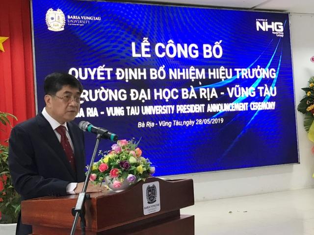 Trường Đại học Bà Rịa - Vũng Tàu (BVU) có hiệu trưởng mới - 2