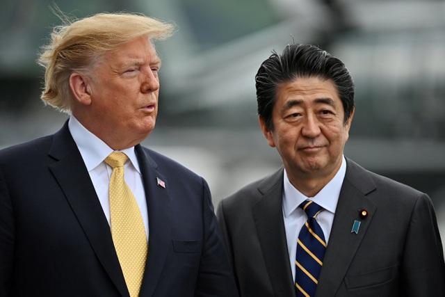 Ông Trump trở thành tổng thống Mỹ đầu tiên thăm tàu chiến Nhật Bản - 11