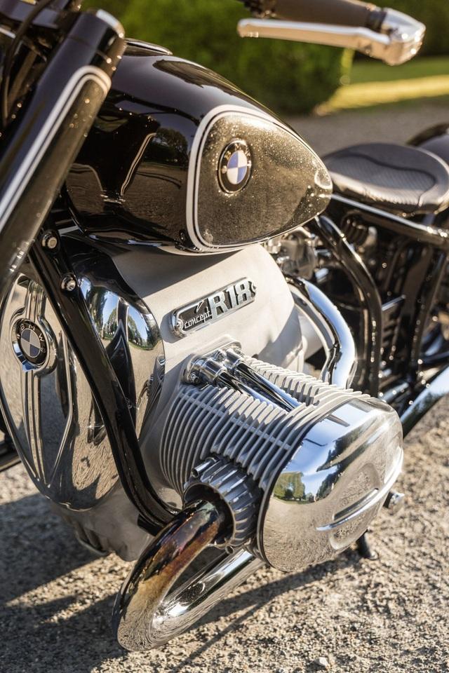 BMW hút hồn người mê môtô bằng concept R18 - 17