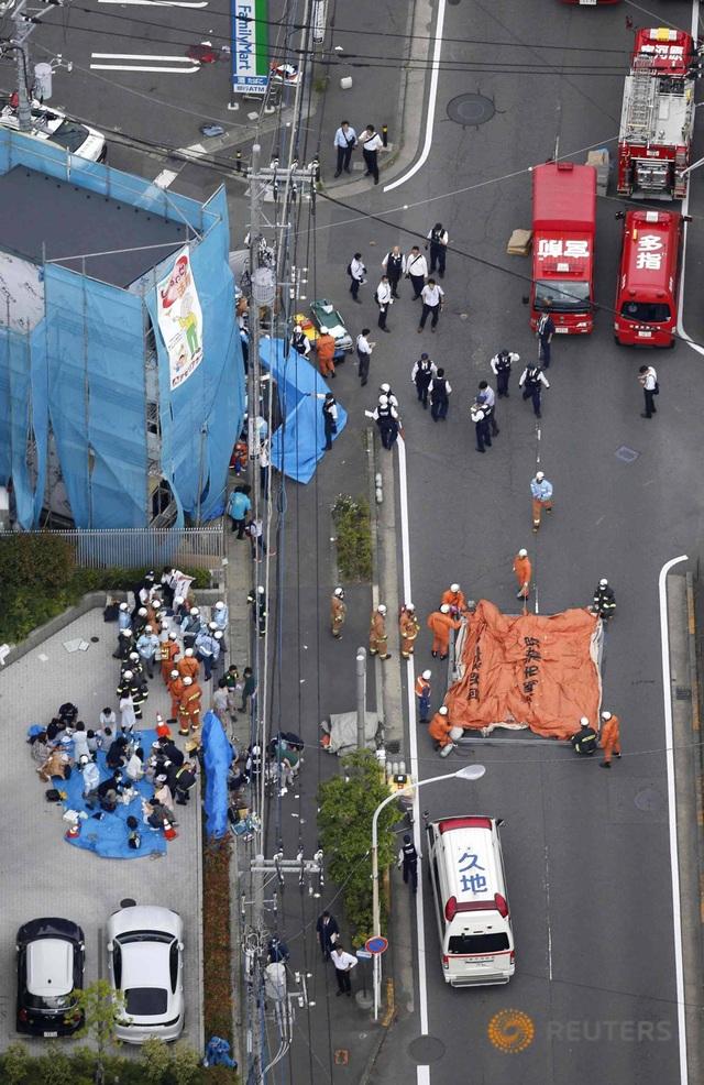 Tấn công bằng dao kinh hoàng gần Tokyo, 3 người chết, 16 người bị thương - 2
