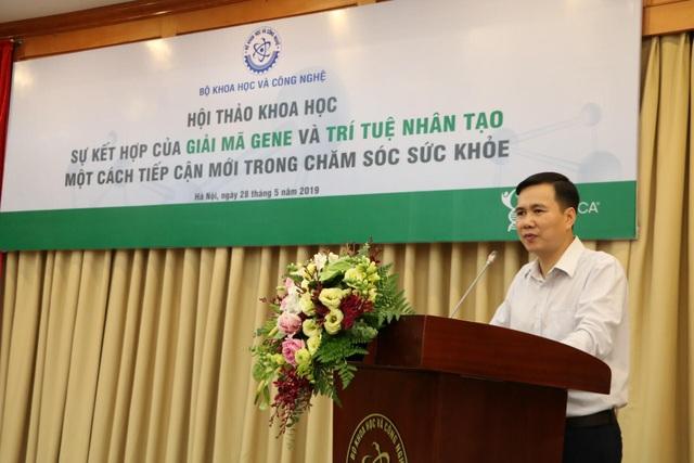 Ứng dụng trí tuệ nhân tạo vào giải mã gen ở Việt Nam rất tiềm năng - 4