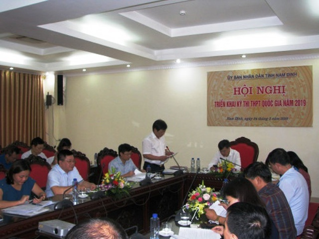 Nam Định: Lắp camera giám sát 24/24h phòng bảo quản đề, bài thi, các ban chấm thi - 1