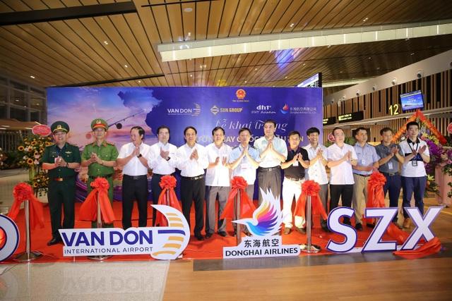 Khai trương đường bay Vân Đồn - Thẩm Quyến, sân bay Vân Đồn hiện thực hóa mục tiêu thị trường quốc tế - 2