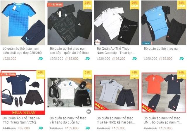 Bắt quả tang gần 1.200 sản phẩm quần áo nghi giả nhãn hiệu Nike, Adidas - 2