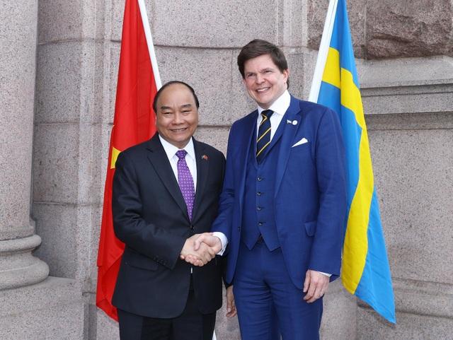 Thủ tướng: Sự giúp đỡ của Thụy Điển dành cho Việt Nam là tài sản vô giá - 1