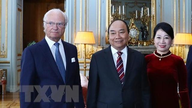 Thủ tướng Nguyễn Xuân Phúc hội kiến Quốc vương Thụy Điển - 1