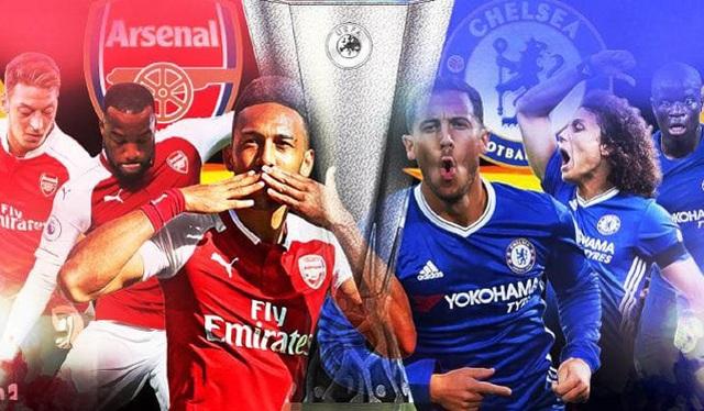 Chung kết Europa League Arsenal - Chelsea: Đôi công rực lửa - 1