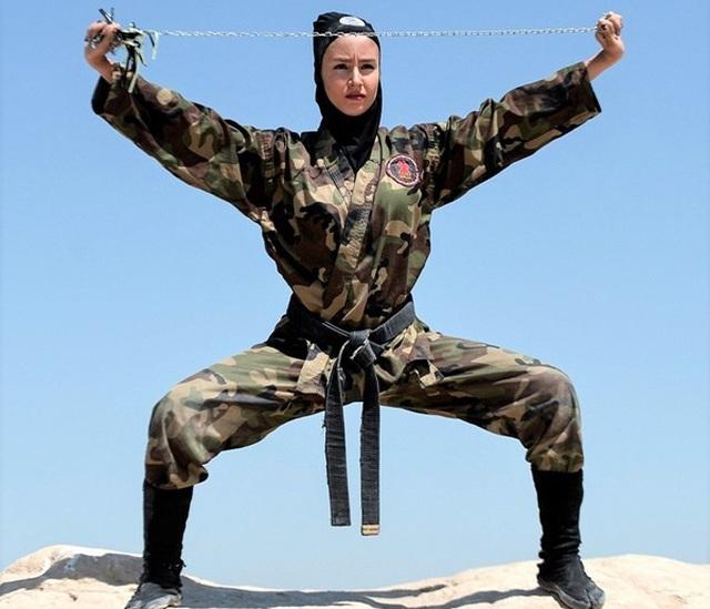 """Bí ẩn đội quân đặc nhiệm nữ Iran """"kunoichi"""" sát thủ - 2"""