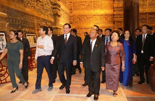 Chủ tịch Quốc hội Vương quốc Campuchia thăm và làm việc tại Hà Nam - 2