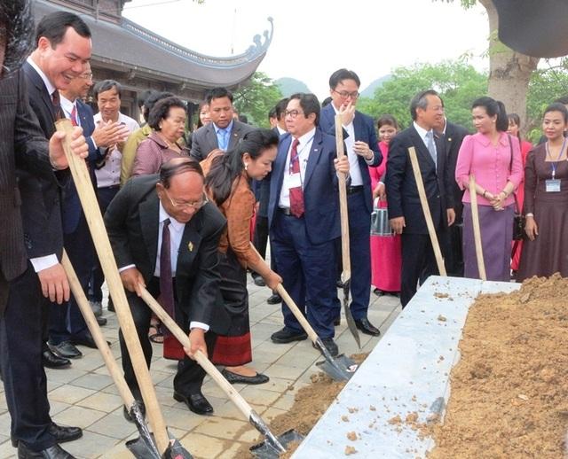 Chủ tịch Quốc hội Vương quốc Campuchia thăm và làm việc tại Hà Nam - 3