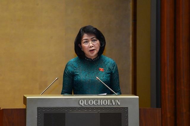 Phó Chủ tịch nước thay Chủ tịch nước trình công ước bảo vệ người lao động - 1