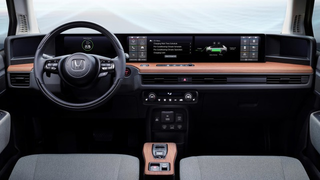 Mẫu xe mới của Honda sẽ không có gương cửa - 2