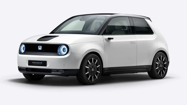 Mẫu xe mới của Honda sẽ không có gương cửa - 1