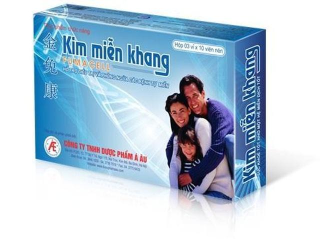Công dụng của thực phẩm bảo vệ sức khỏe Kim Miễn Khang là gì? - 1