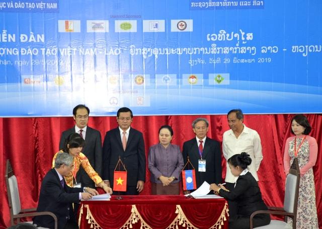 Diễn đàn nâng cao chất lượng đào tạo Việt Nam - Lào - 3