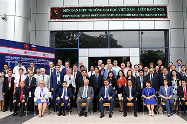 Diễn đàn Hiệu trưởng đại học Việt Nam – Liên Bang Nga: Đẩy mạnh việc công nhận văn bằng của nhau - 1