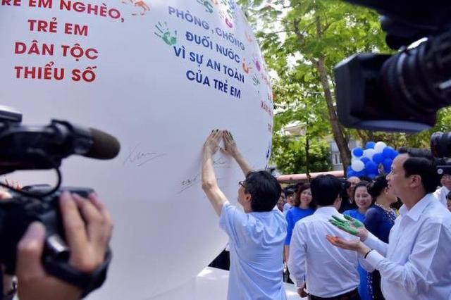 Tổ chức từ thiện Bloomberg tiếp tục cam kết hỗ trợ Phòng chống đuối nước cho trẻ em Việt Nam - 3
