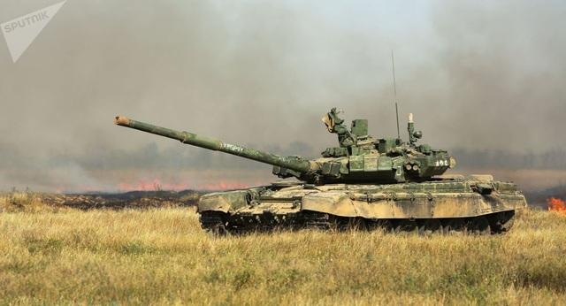 """""""Bản sao"""" siêu tăng chủ lực T-72 của Nga xuất hiện tại doanh trại Mỹ - 1"""