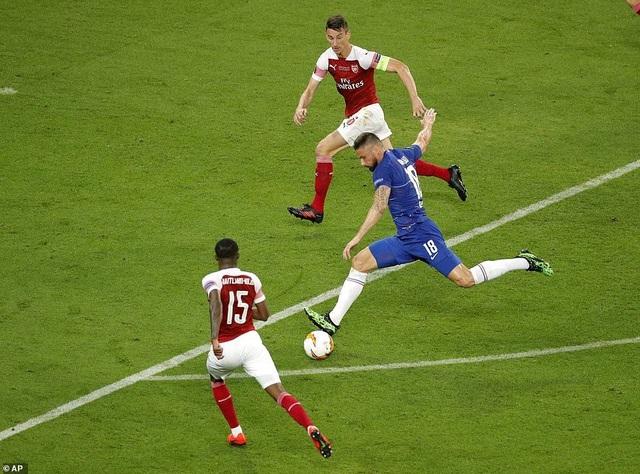 """Những khoảnh khắc Chelsea """"vùi dập"""" Arsenal để lên ngôi vô địch Europa League - 17"""