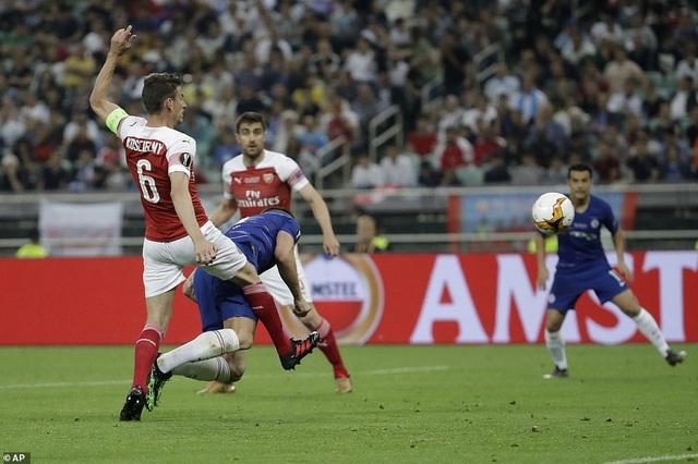 """Những khoảnh khắc Chelsea """"vùi dập"""" Arsenal để lên ngôi vô địch Europa League - 3"""