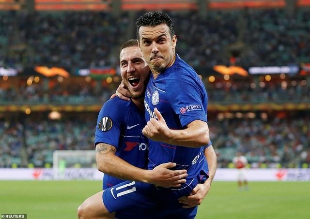 """Những khoảnh khắc Chelsea """"vùi dập"""" Arsenal để lên ngôi vô địch Europa League - 5"""