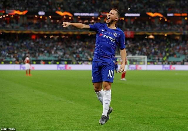 """Những khoảnh khắc Chelsea """"vùi dập"""" Arsenal để lên ngôi vô địch Europa League - 9"""