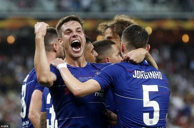 """Những khoảnh khắc Chelsea """"vùi dập"""" Arsenal để lên ngôi vô địch Europa League - 6"""