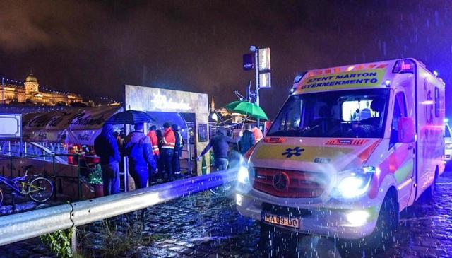 Lật tàu du lịch trên sông Đa-nuýp ở Hungary, 7 người chết, 19 người mất tích - 3