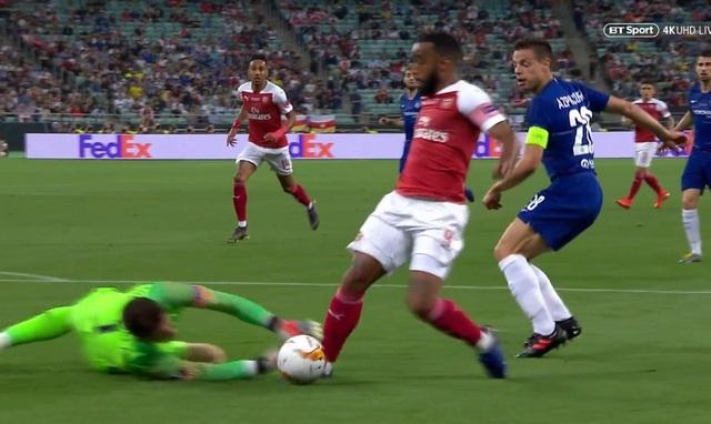 Tranh cãi nảy lửa về tình huống Arsenal mất quả phạt đền - 3