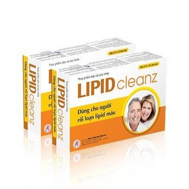 Công dụng của thực phẩm bảo vệ sức khỏe Lipidcleanz là gì? - 1